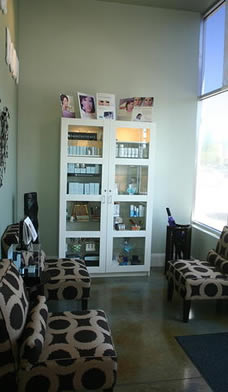 Guest area of Athens Laser Hair Removal