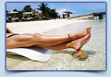 Full legs laser hair removal treatment
