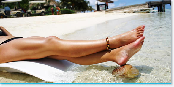 Legs laser hair removal treatment